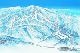 Kagura and Tashiro Ski Resorts link up with Naeba making an enormous mega resort.