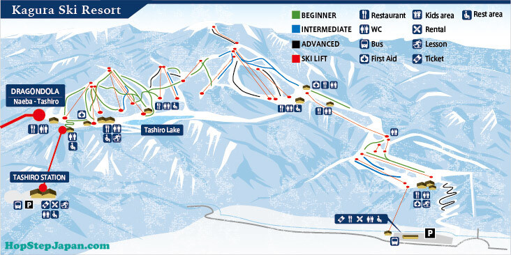 Kagura Ski Resort is huge and has an enormous variety of runs. This is a perfect fit for an expert who wants to explore.